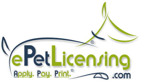 Apply. Pay. Print - We make Your Pet Legal Fast